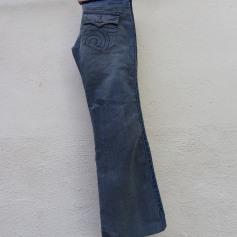 Jeans large, boyfriend Freeman T Porter  pas cher