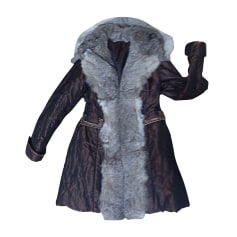 Manteau en fourrure RIZAL  pas cher