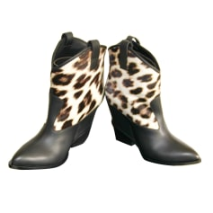 Bottines & low boots à compensés Giuseppe Zanotti  pas cher