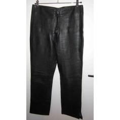Pantalon droit Derhy  pas cher