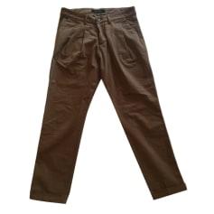 Pantalon slim, cigarette Basicon  pas cher