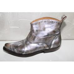 Santiags, bottines, low boots cowboy Pan Tulipani  pas cher