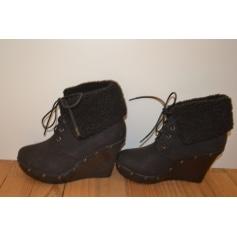 Bottines & low boots à compensés Shine  pas cher