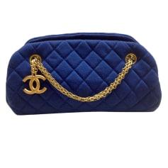 Sac à main en tissu Chanel Mademoiselle pas cher