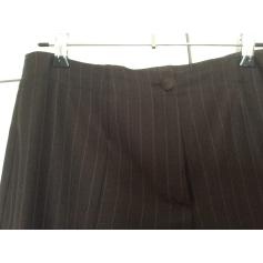 Pantalon droit Elements de Escada  pas cher