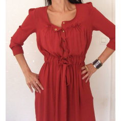 Robe mi-longue Scarlet Roos  pas cher