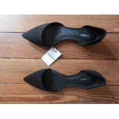 Sandales plates  Mango  pas cher