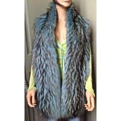 Blouson, veste en fourrure Versace  pas cher