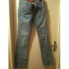 Jeans droit Elle  pas cher