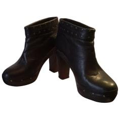 Bottines & low boots à compensés Gerard Darel  pas cher