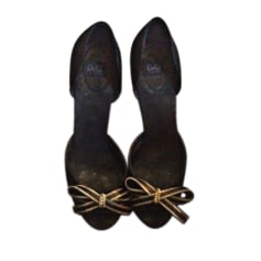 Escarpins à bouts ouverts D&G  pas cher