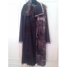 Manteau en fourrure Pap Kik  pas cher