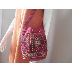 Sac en bandoulière en tissu Antik Batik  pas cher