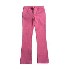 Pantalon très evasé, patte d'éléphant Dsquared2  pas cher