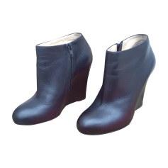 Bottines & low boots à compensés Christian Louboutin  pas cher