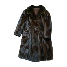 Manteau en fourrure VALANTIN FOURREUR  pas cher