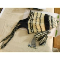 Bonnet tricoté main création originale  pas cher