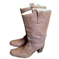 Santiags, bottines, low boots cowboy Free Lance  pas cher