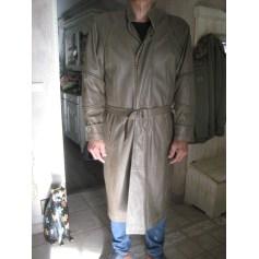 Manteau en cuir ZAKS  pas cher