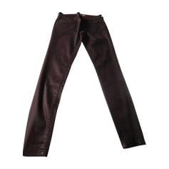 Pantalon slim, cigarette Burberry  pas cher