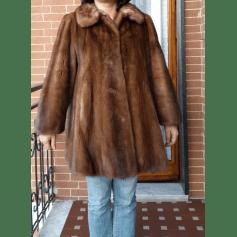Manteau en fourrure Fourreur italien  pas cher