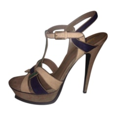 Heeled Sandals Yves Saint Laurent Tribute
