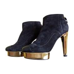 Bottines & low boots à compensés Chanel  pas cher