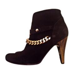 Bottines & low boots à talons Just Cavalli  pas cher