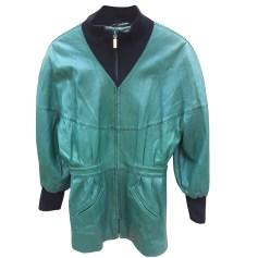 Manteau en cuir ZILLI  pas cher
