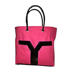 Sac XL en tissu Yves Saint Laurent  pas cher