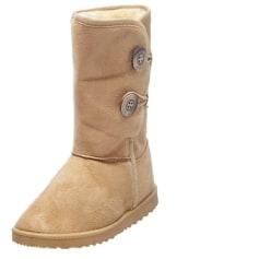 Bottines & low boots plates Dazawa  pas cher