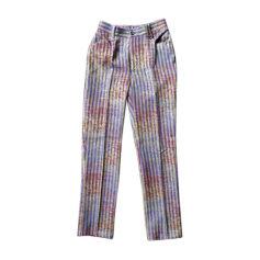 Jeans droit Christian Lacroix  pas cher