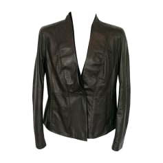 Leather Jacket Emporio Armani