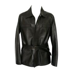 Leather Coat Emporio Armani