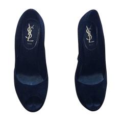 Escarpins à bouts ouverts Yves Saint Laurent  pas cher