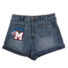 Short en jean Manoush  pas cher