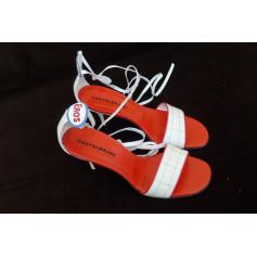Sandales à talons Castelbajac  pas cher