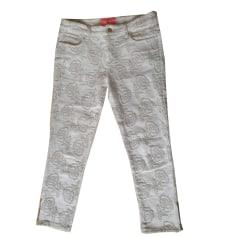 Pantalon slim, cigarette Manoush  pas cher