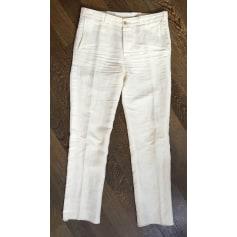 Pantalon droit Golden Goose Deluxe Brand  pas cher