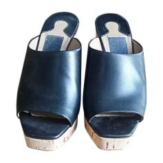 Sandales compensées Salvatore Ferragamo  pas cher