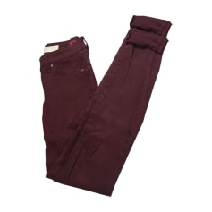 Pantalon slim, cigarette Marc Jacobs  pas cher