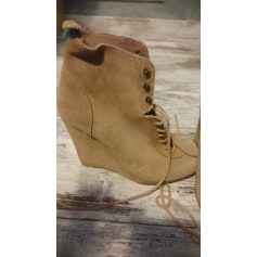Wedge Ankle Boots Zara