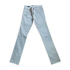 Pantalon slim, cigarette High  pas cher