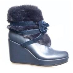 Bottines & low boots à compensés Texto  pas cher