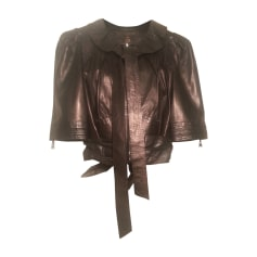 Veste en cuir Louis Vuitton  pas cher