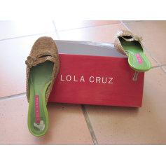 Sandales à talons Lola Cruz  pas cher
