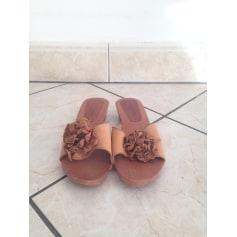Sandales compensées Carel  pas cher