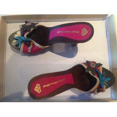 Sandales à talons Fornarina  pas cher