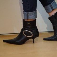 High Heel Ankle Boots Buffalo