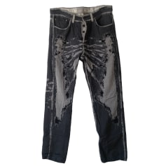 Wide Leg Pants A-Poc
